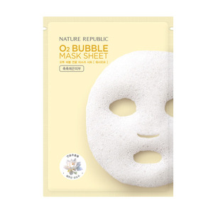 Nature Republic O2 Bubble Mask Sheet Lotus 28g