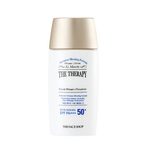 The FACE Shop The Therapy Sunscreen Moisture Blending Formula SPF50+ PA+++ 55ml