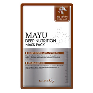 secretKey Mayu Deep Nutrition Mask Pack 10ea
