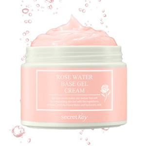 secretKey Rose Water Base Gel Cream 100g